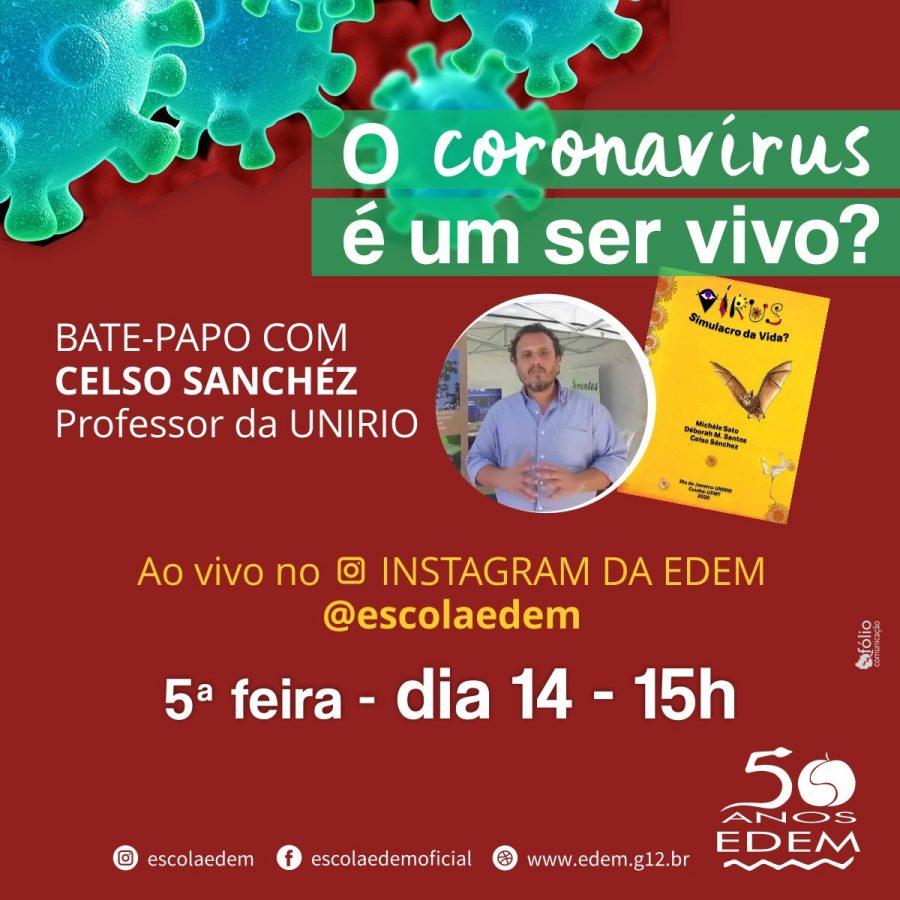 O coronavírus é um ser vivo?