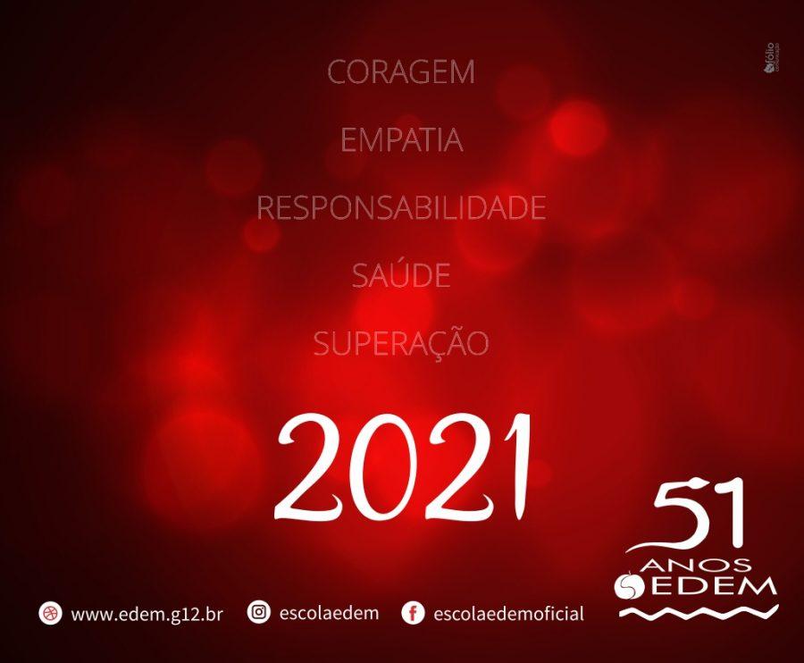 Que venha 2021!