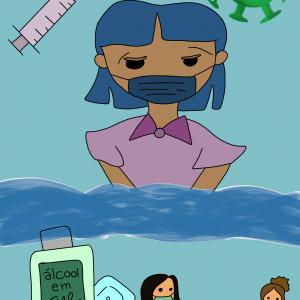 Protocolo Sanitário em forma de arte