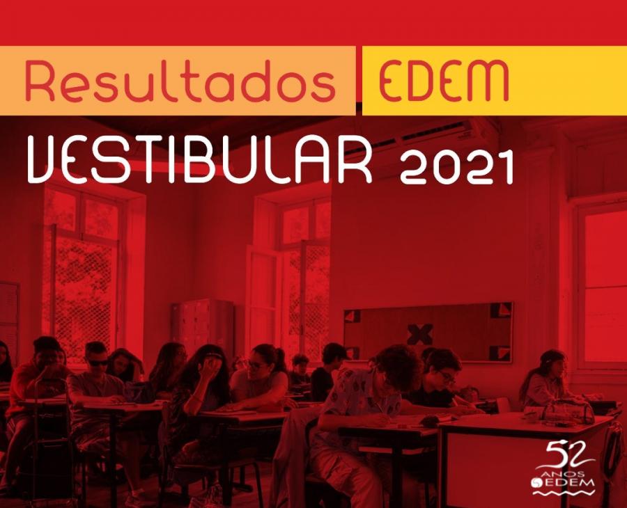 Resultados EDEM Vestibular 2021